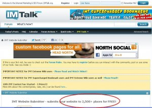 Imtalk Free Backlinks Generator