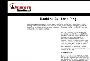 improveseorank Free Backlinks Generator