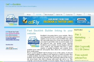 official Free Backlinks Generator