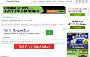 smallseotools Free Backlinks Generator